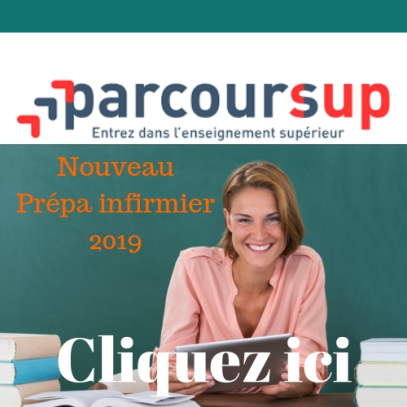 inscription parcoursup infirmier
